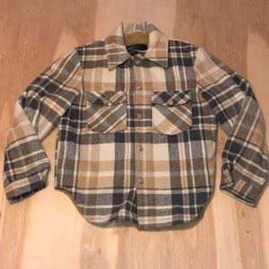 VTG Montgomery Ward Plaid Lined Hunting Jacket